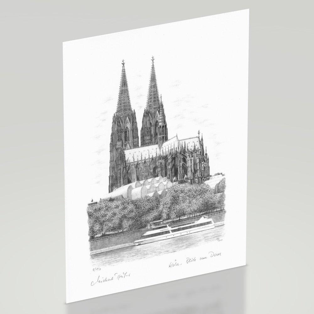 Bild Blick Zum Kölner Dom Galerie Und Shop Michael Pfeifer